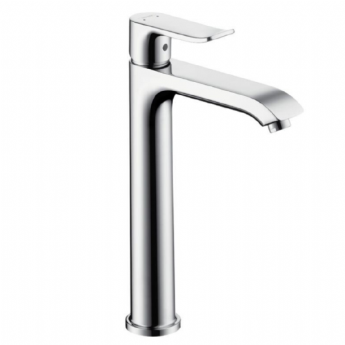 Hansgrohe Metris Single Lever Basin Mixer Model:  Tall 200 - 31183000 - With Pop Up Waste